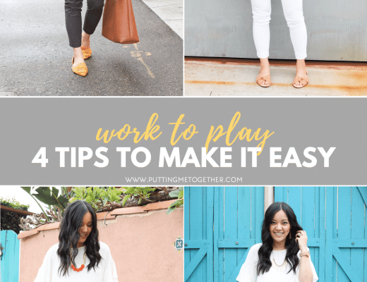 4 Tips to Style a Top for Business Casual and a Night Out