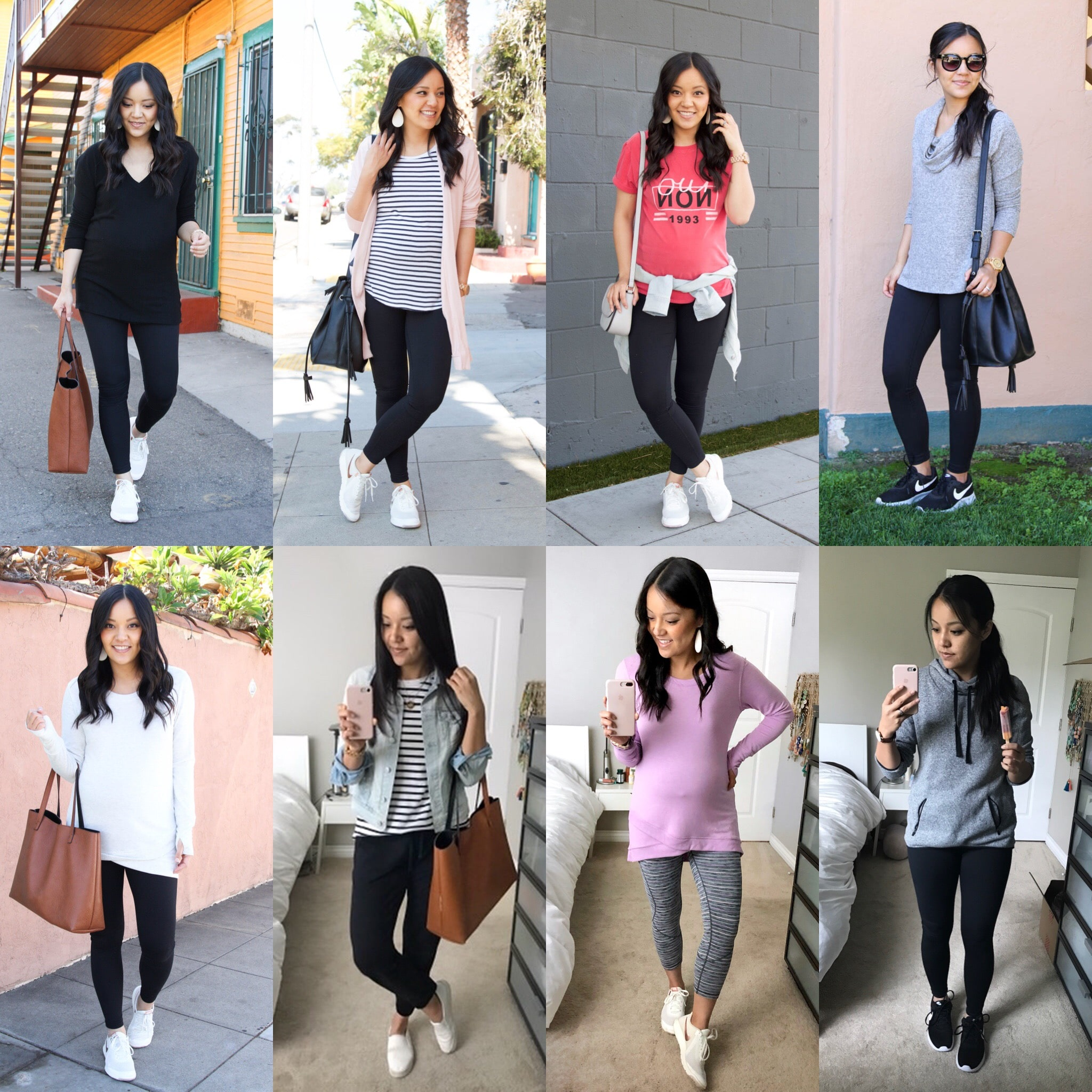 Spring Style Profile: Basic Building Blocks for Athleisure Outfits