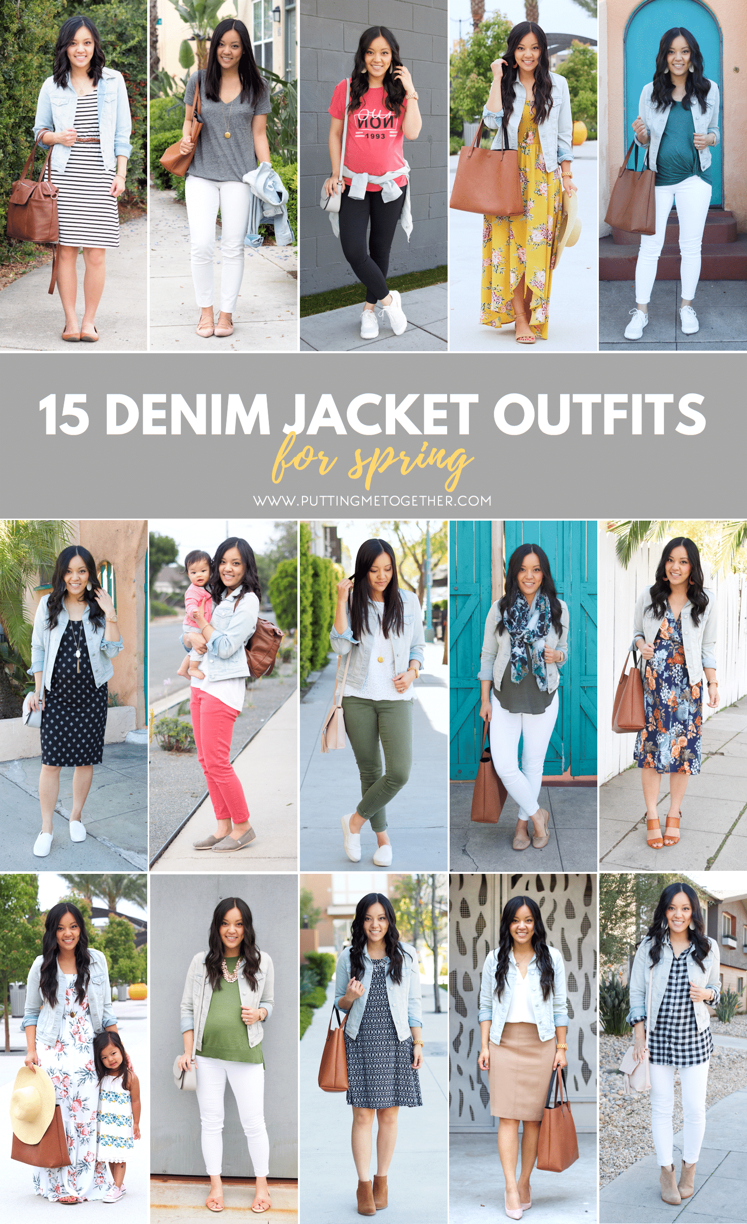 15 Denim Jacket Outfits For Spring How To Find The Perfect Denim