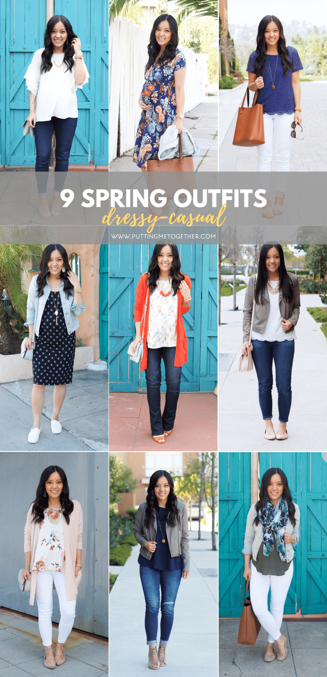 9 Dressy Casual Spring Outfits: Out