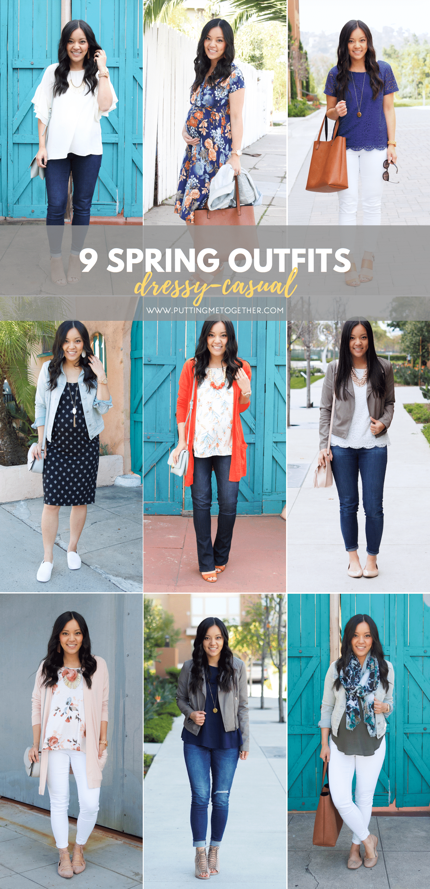 0ac38b8fc485 9 Dressy Casual Spring Outfits  Out with Friends