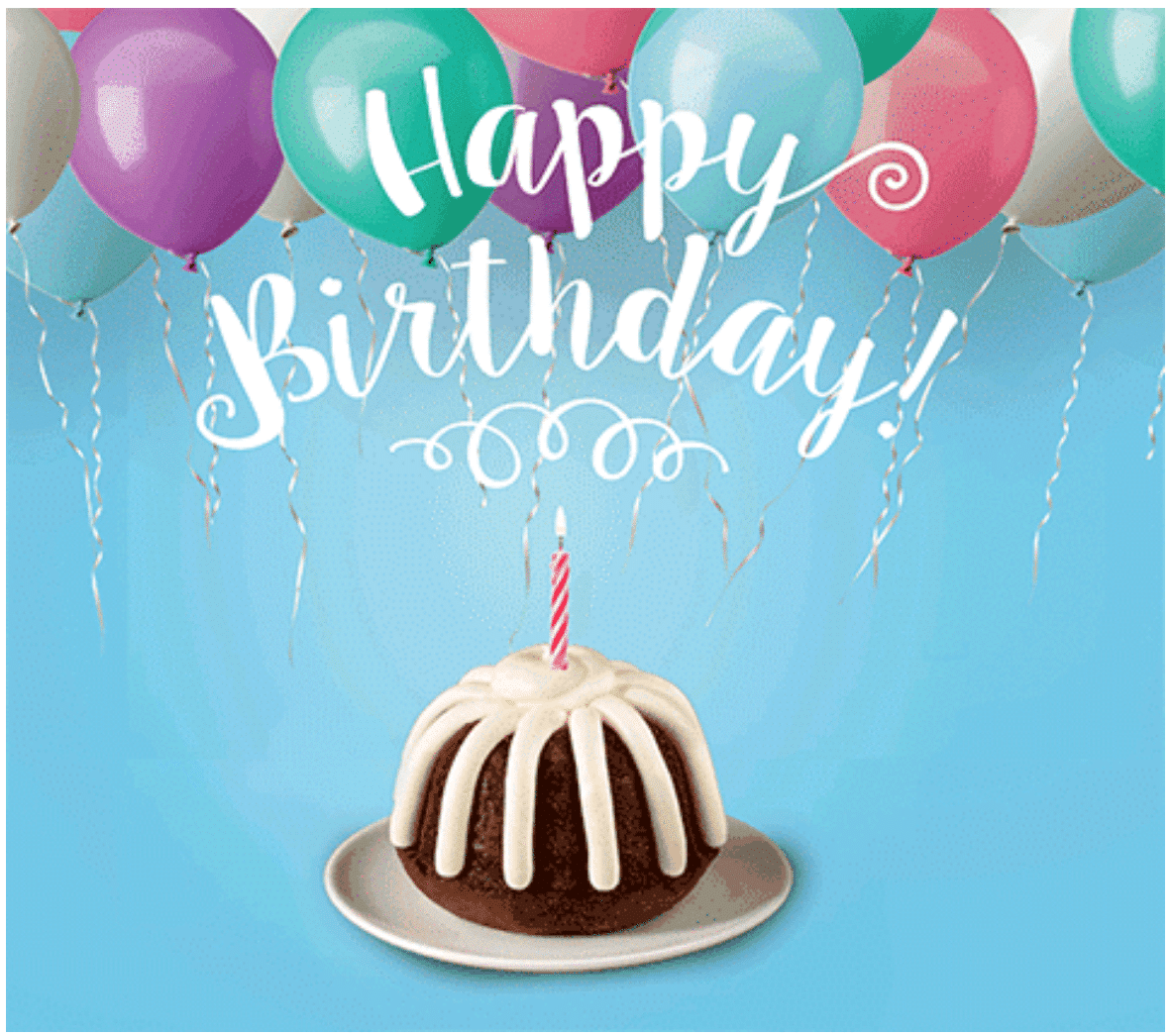 Nothing Bundt Cakes Birthday Freebie