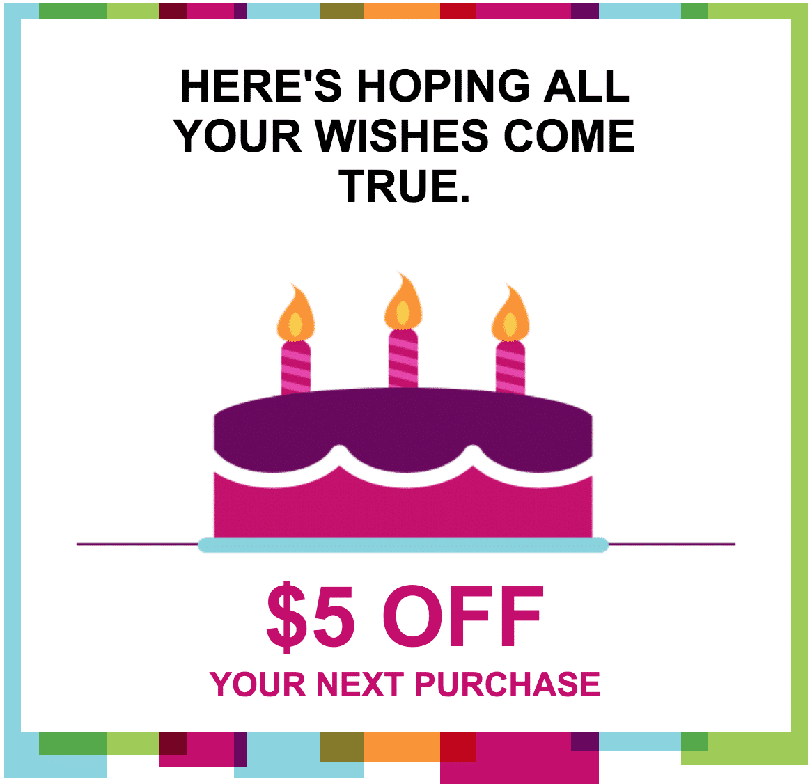 Kohl's Birthday Freebie