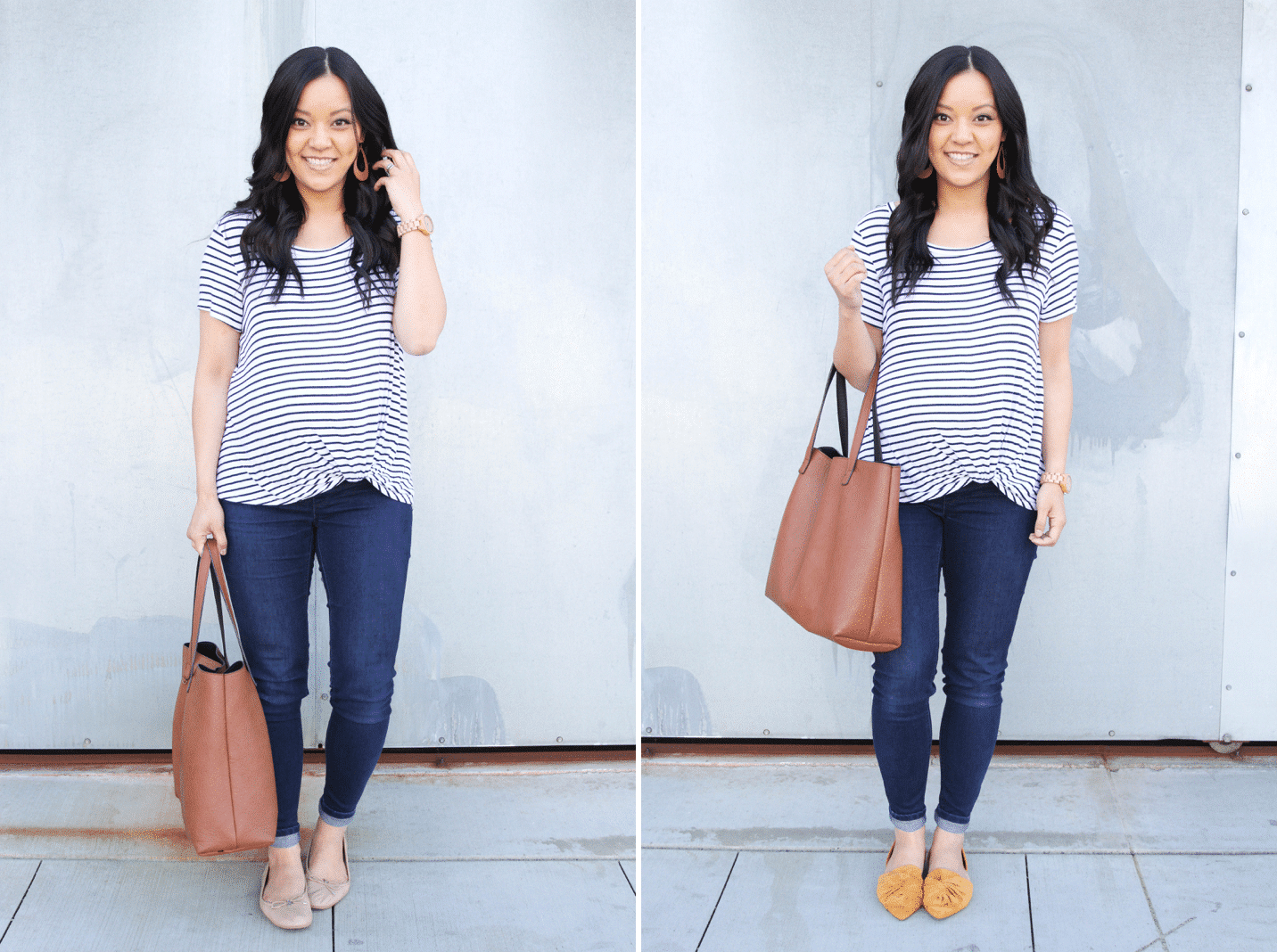 Making Neutrals Pop with Colored Flats