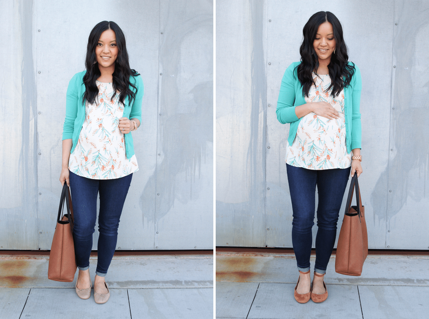 Using Colored Flats to Make Outfits Pop