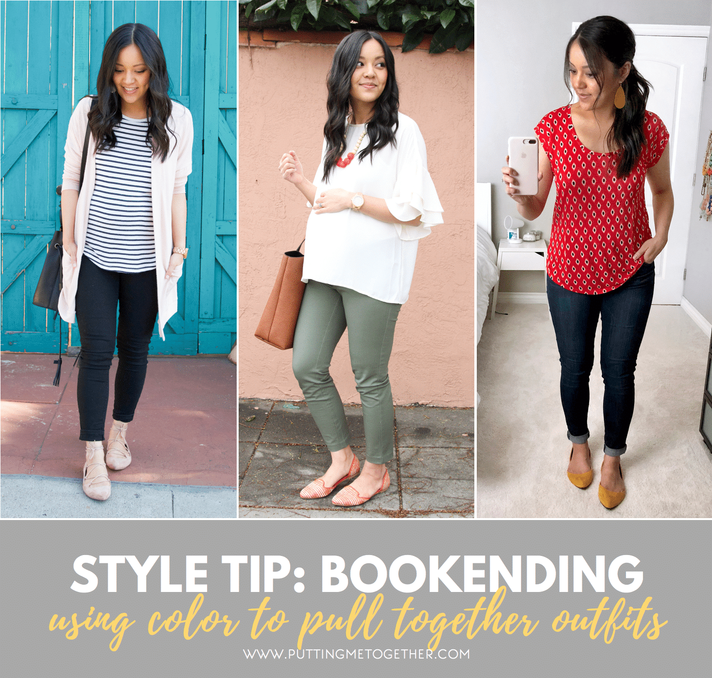 How to Incorporate Color this Spring and Summer Using Bookending