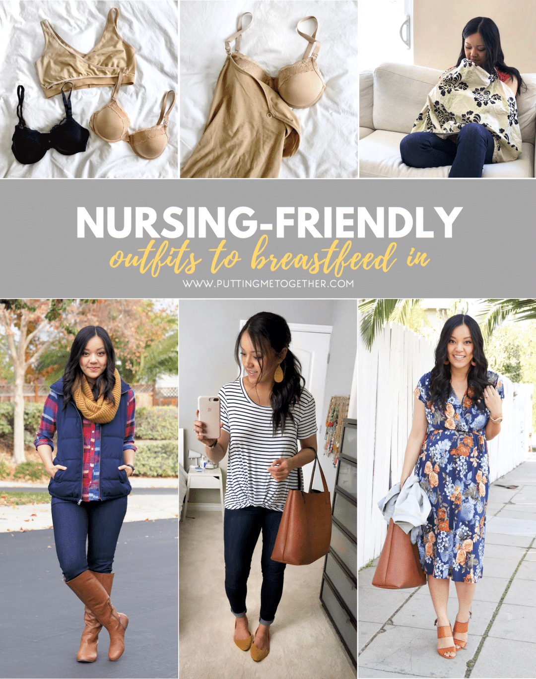 Nursing Friendly Outfits to Breastfeed In