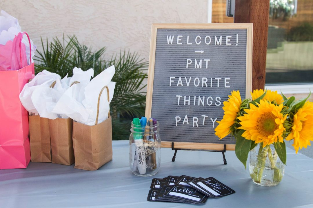 Favorite Things Party Gift Ideas