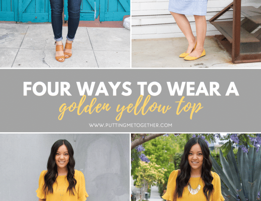 Yellow Top Outfits