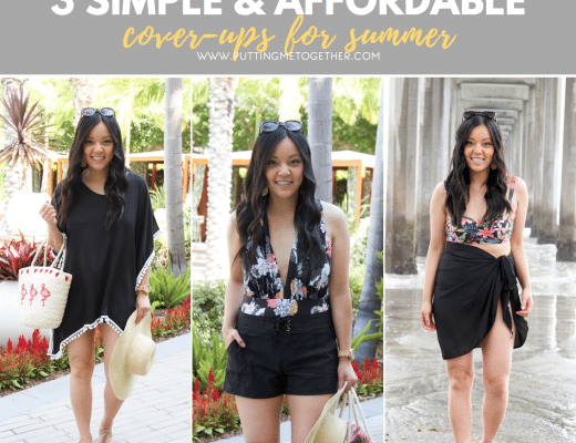 Simple Affordable Swimsuit Cover Ups