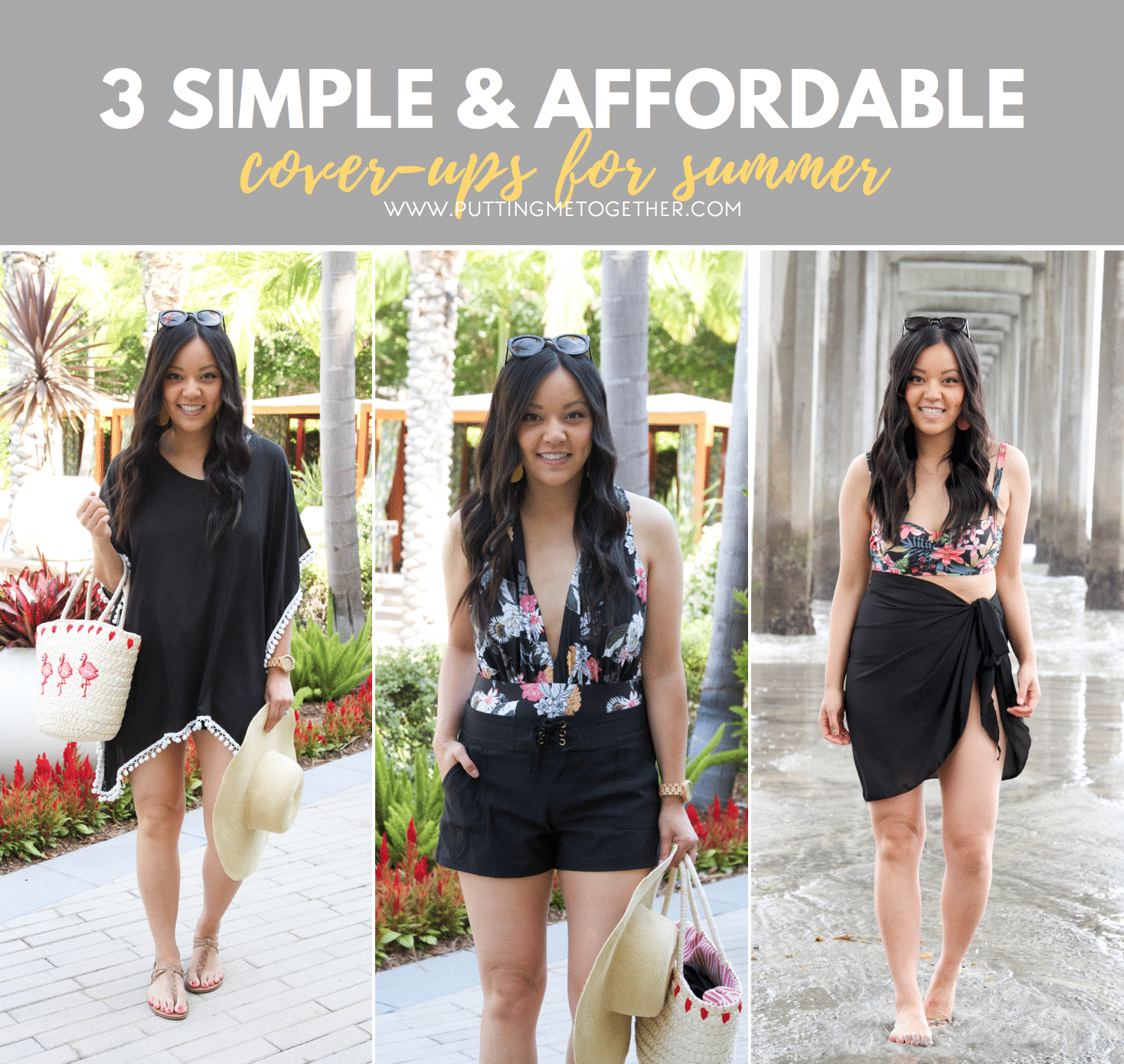 5f599007cb2 Three Simple Swimsuit Cover-Ups for Summer
