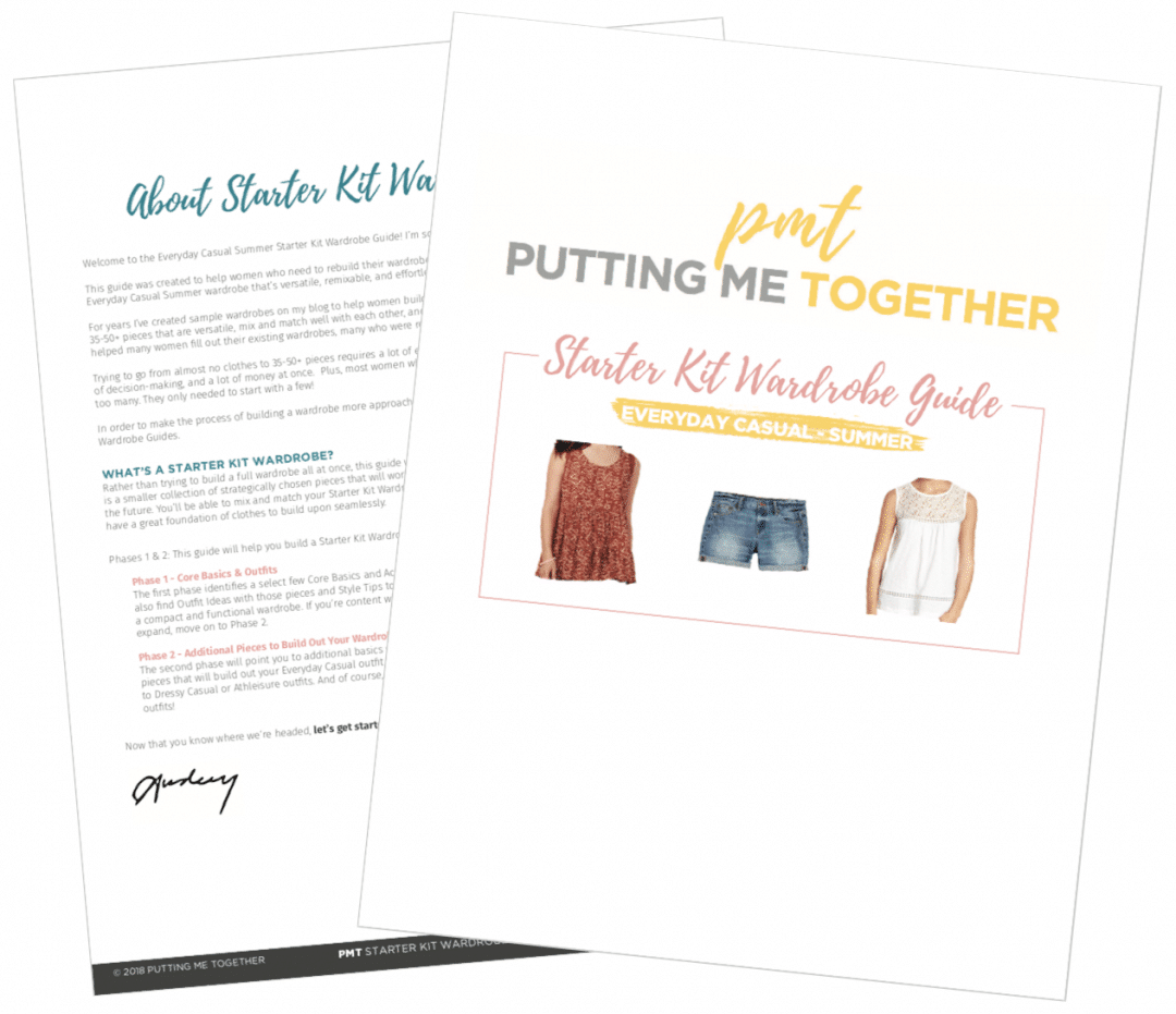 How to Build a Casual Summer Wardrobe PDF