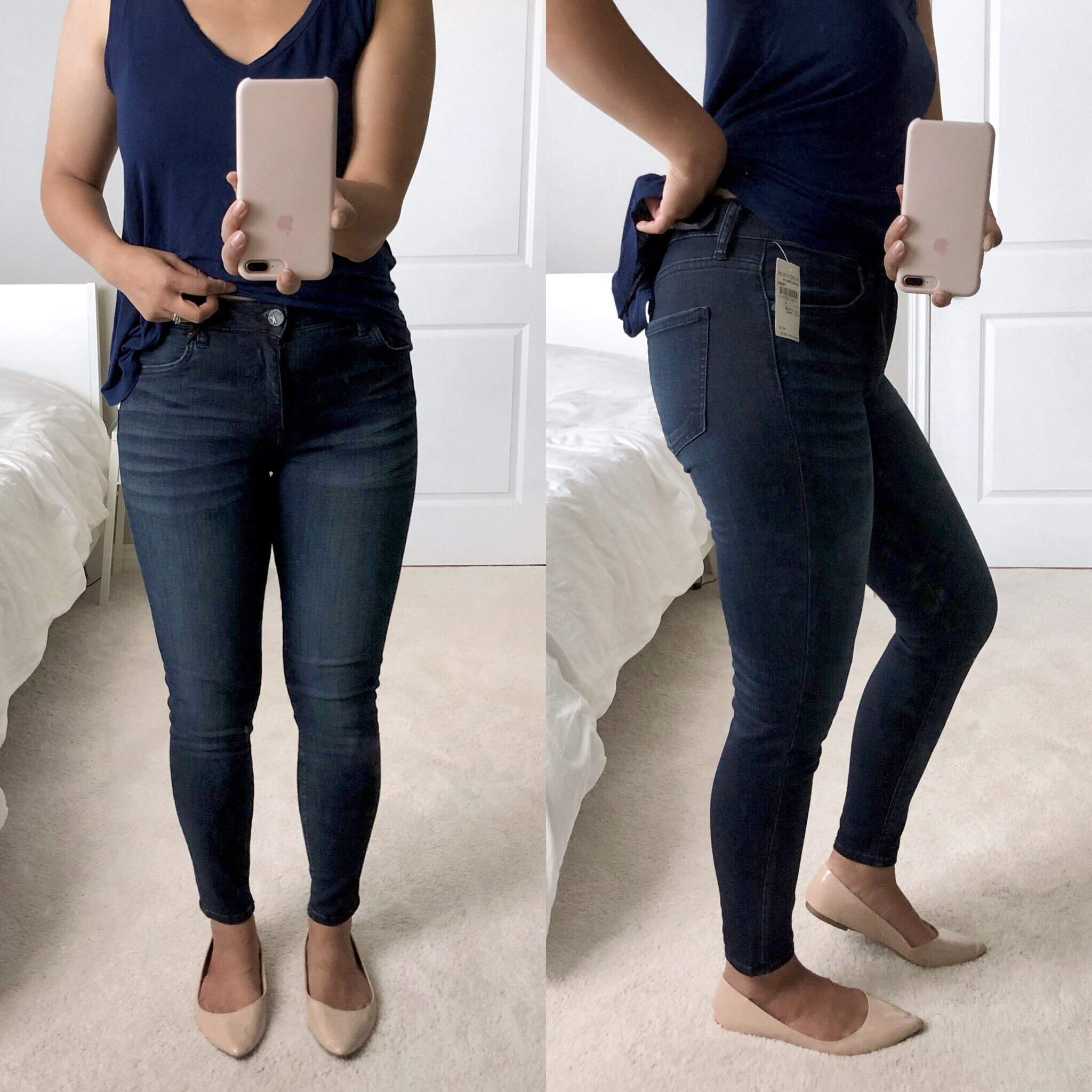 Nordstrom Try On Jeans
