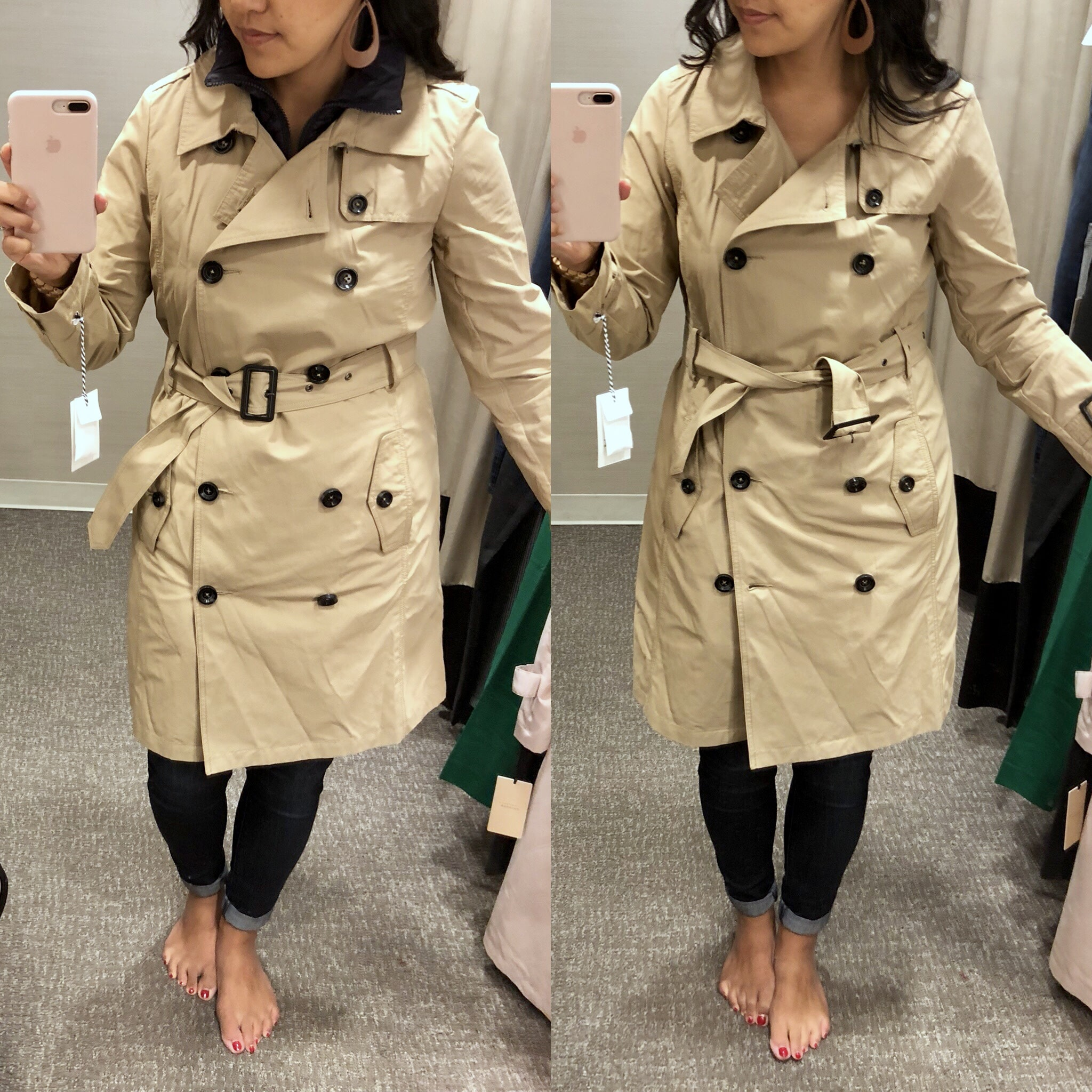 Nordstrom Anniversary Sale Try On- Khaki Coat