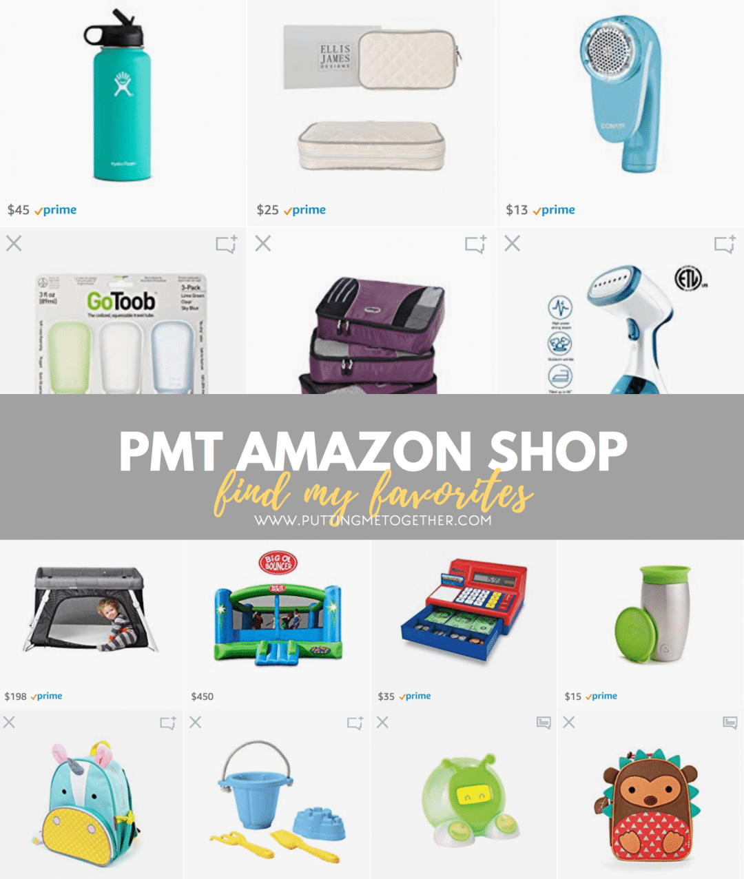 Amazon Shop Page