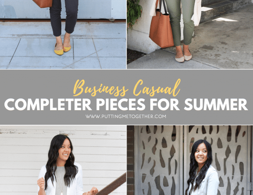 Business Casual Completer Pieces for Summer