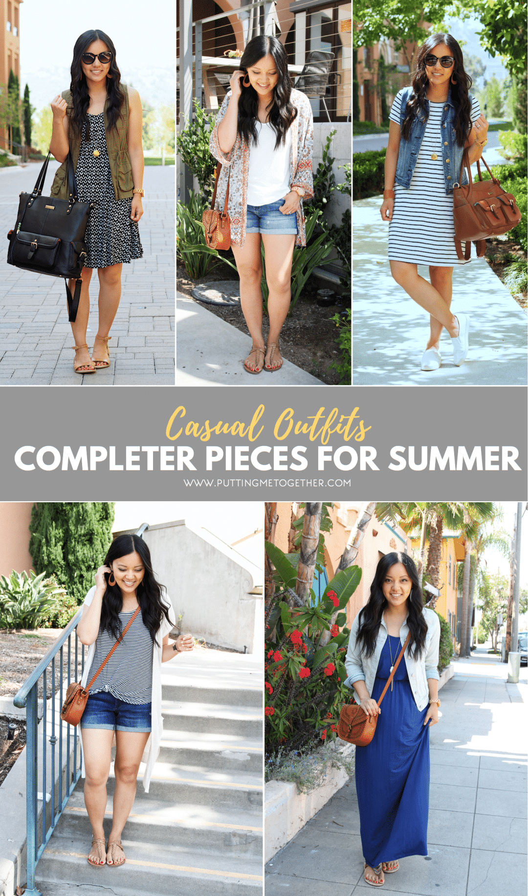 Completer Pieces for Casual Summer Outfits