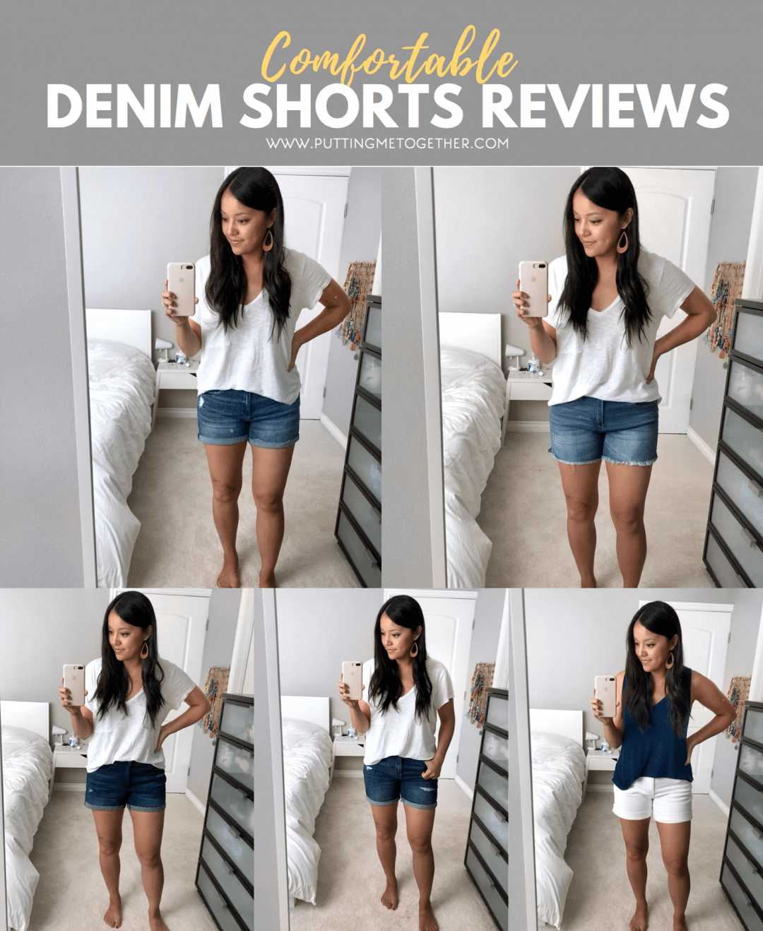 Reviews of Comfortable Denim Shorts