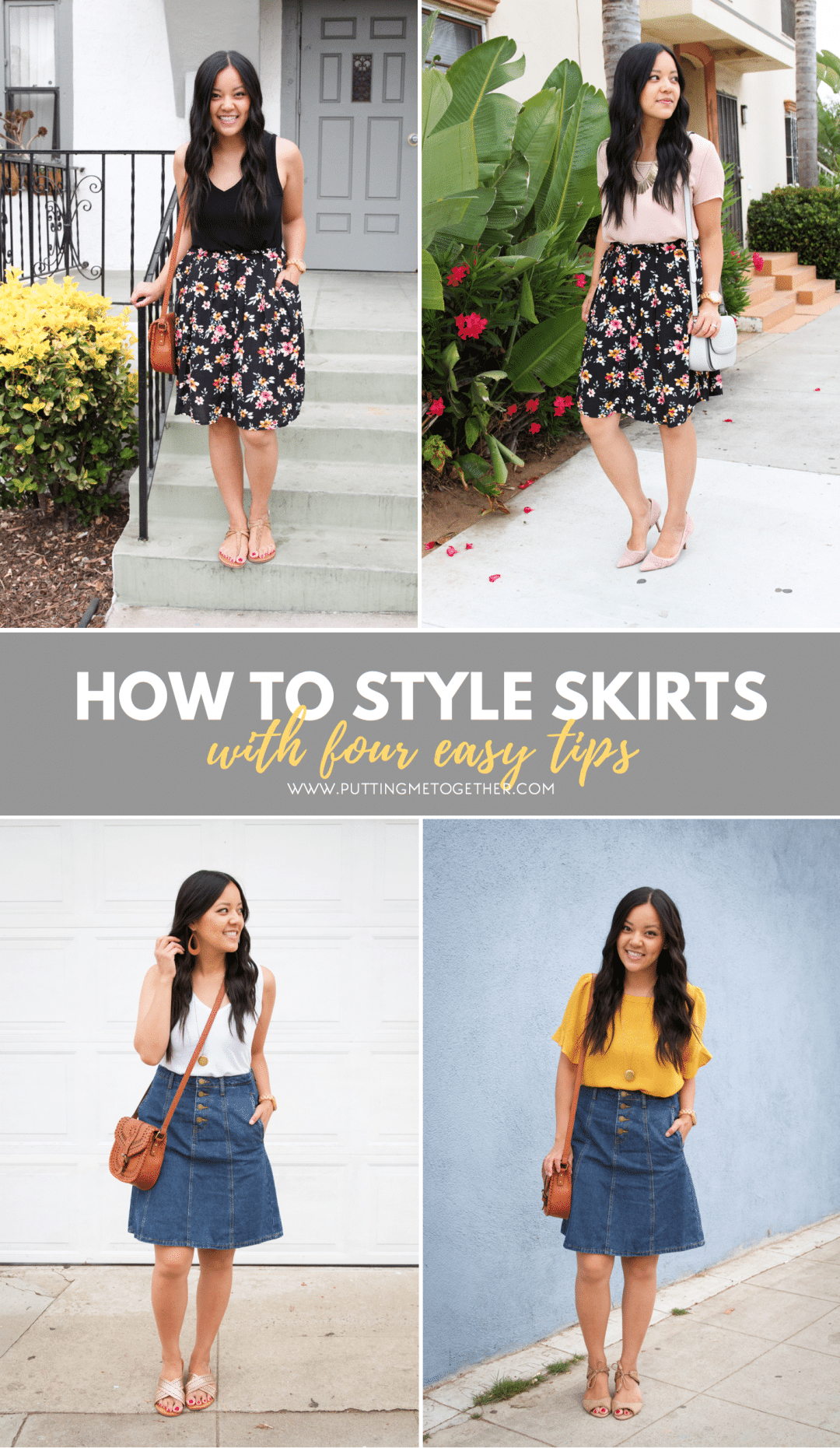How to Style Skirts with 4 Easy Tips
