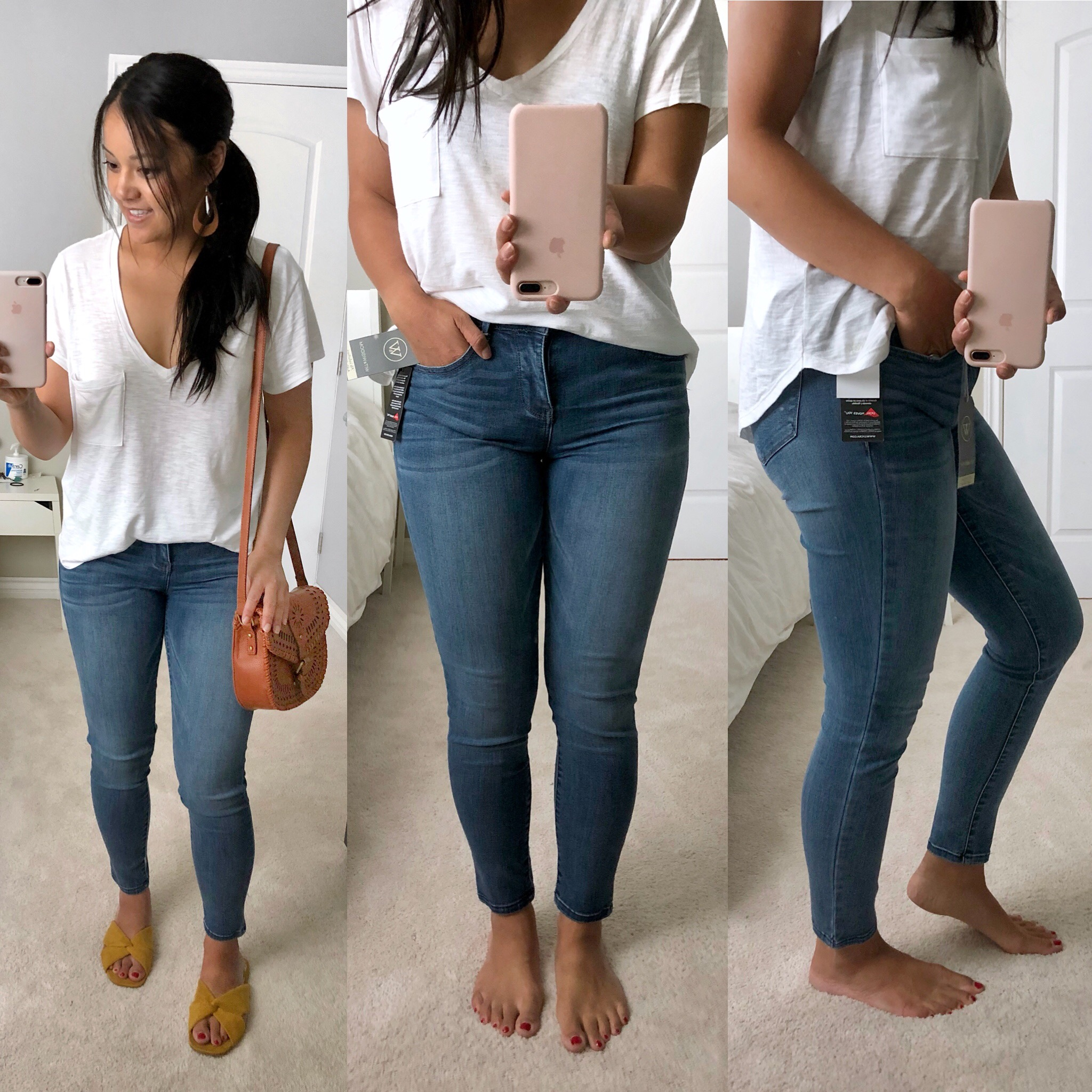 Wit and Wisdom Light Wash Ankle Jeans Review