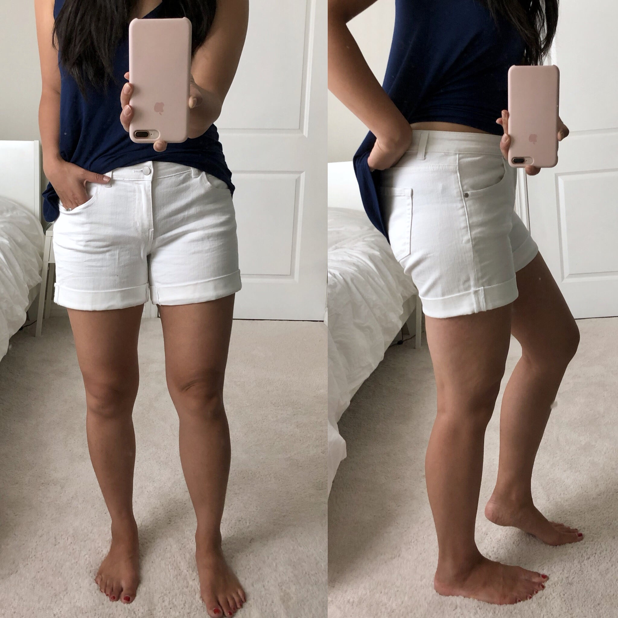 Review of Caslon White Shorts