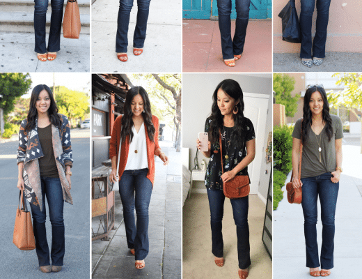 How to Wear Bootcut Jeans + Bootcut Jeans Outfits