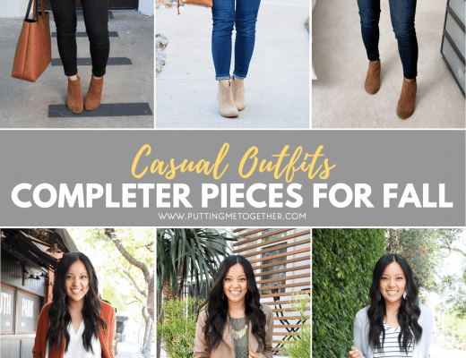 Completer Pieces for Casual Fall Outfits