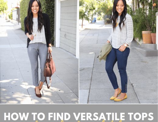 How to Find Tops for Business Casual Workwear and Casual Outfits