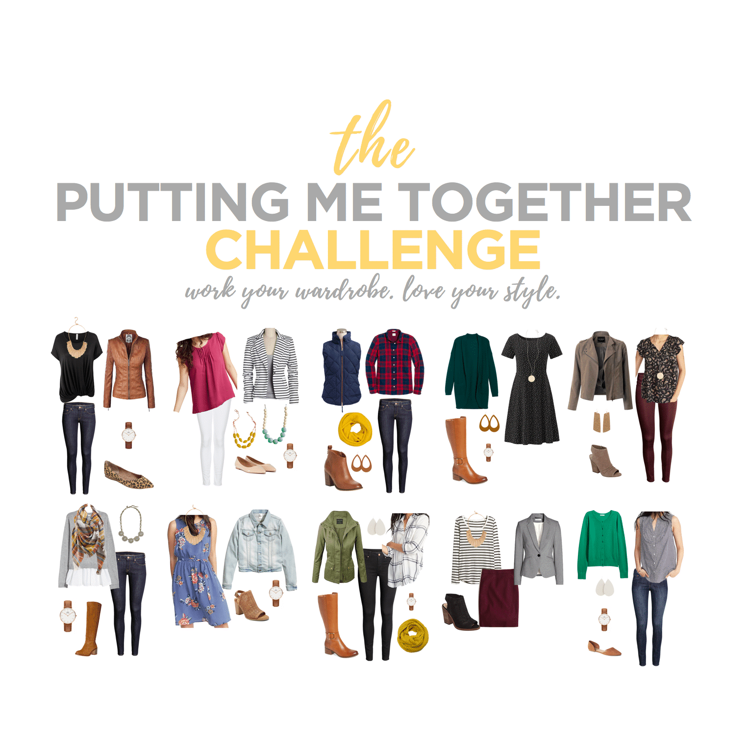 The Putting Me Together Challenge: Build a Mix-and-Match Wardrobe
