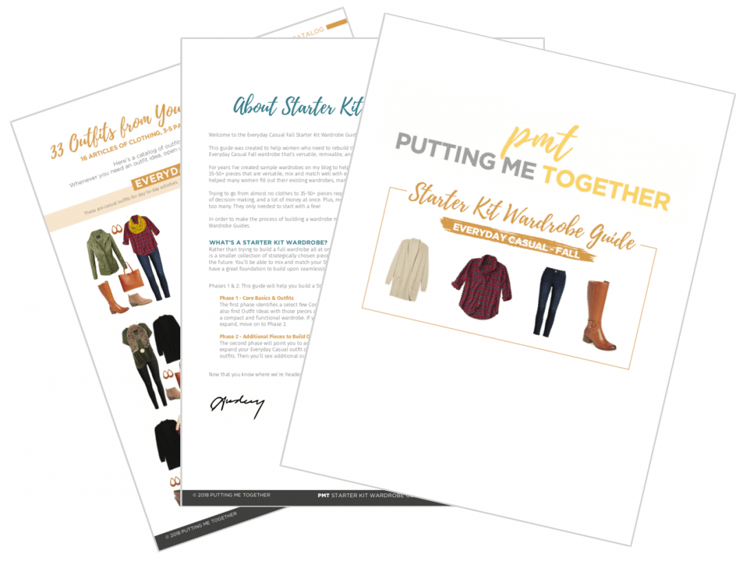 Guide to Build a Fall Capsule Wardrobe