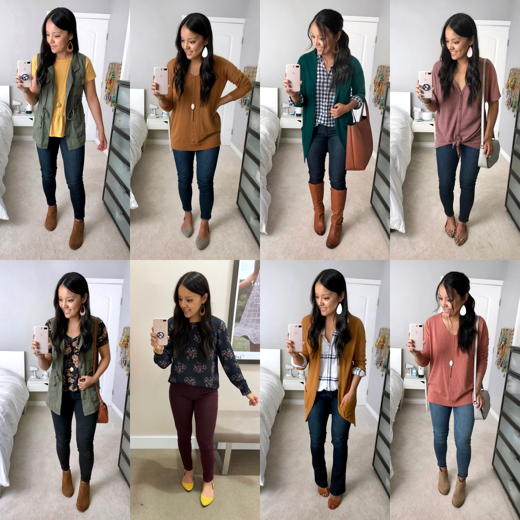 Daily Outfits 37 Outfits for Early Fall , Casual and