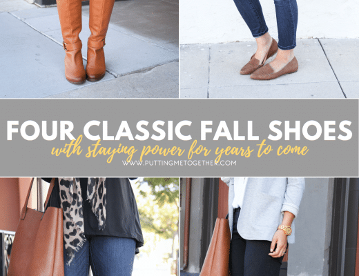 Four Classic Shoes for Fall That Won't Go Out of Style Anytime Soon