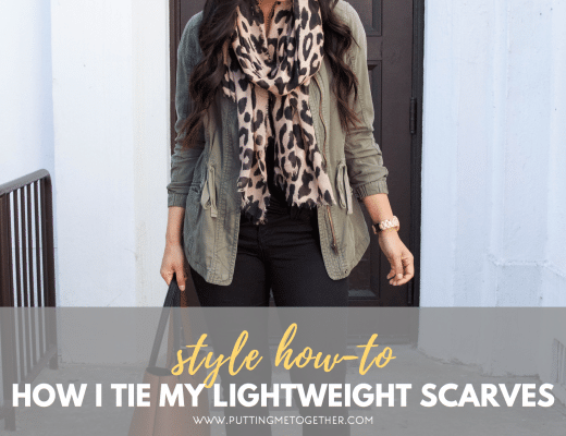 How I Tie My Lightweight Scarves