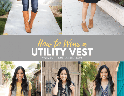 Outfits With a Utility Vest