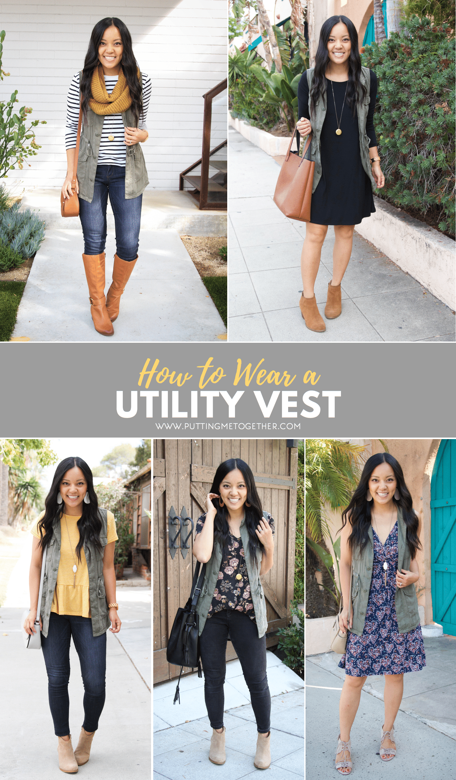 5eecde96a6f 5 Ways to Wear a Utility Vest + Tips for Finding One