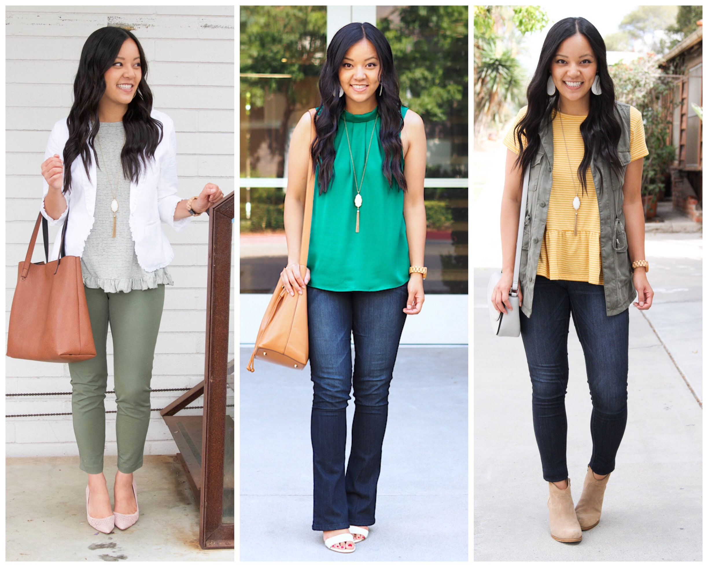 Accessories: White Pendant Necklace Outfits