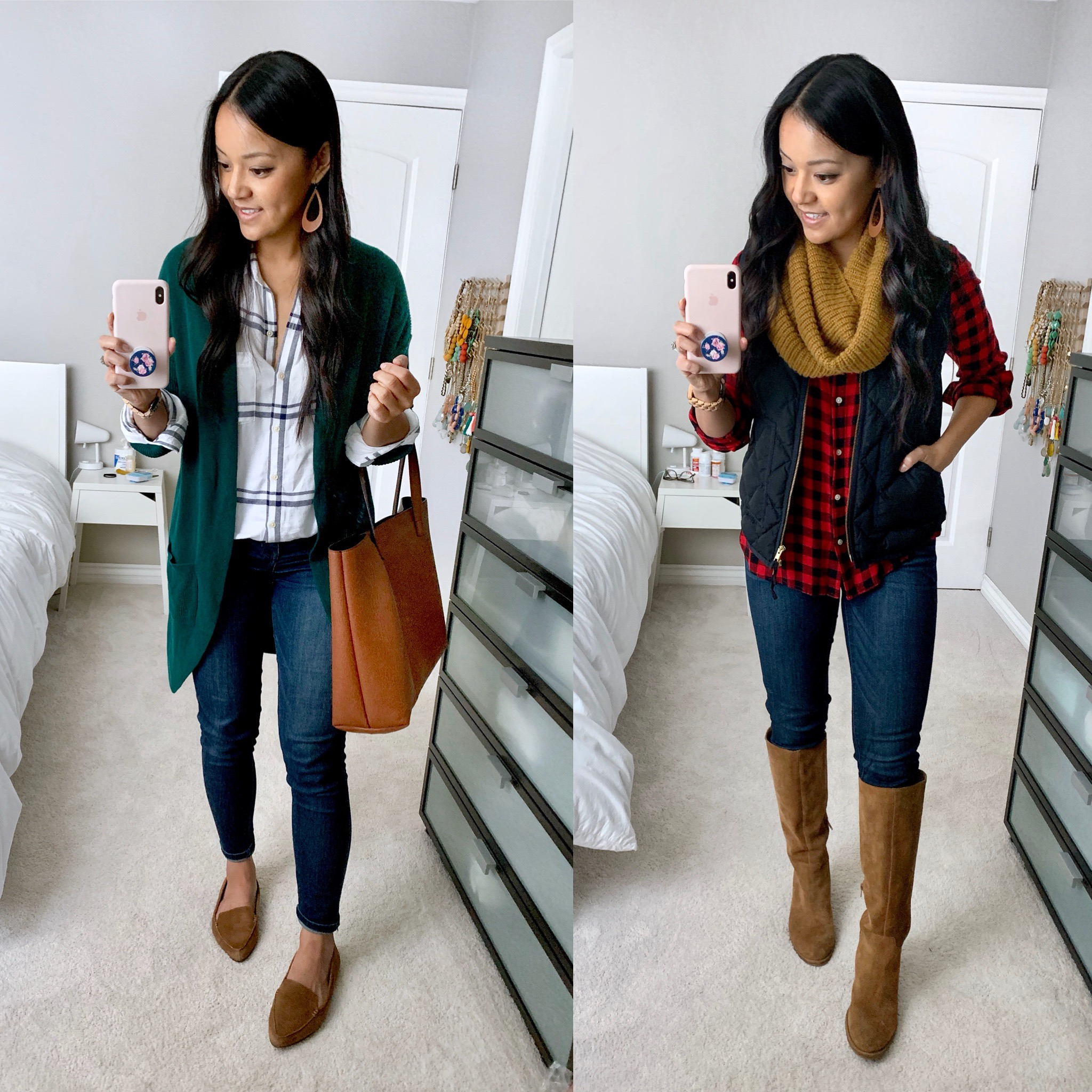 Fall Outfits With Button Up Shirts