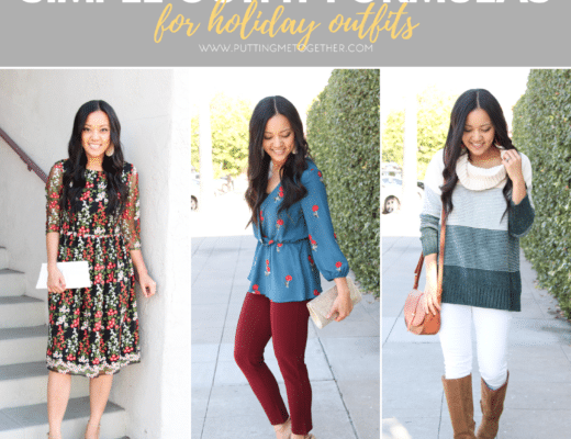 Cute Holiday Outfit Ideas