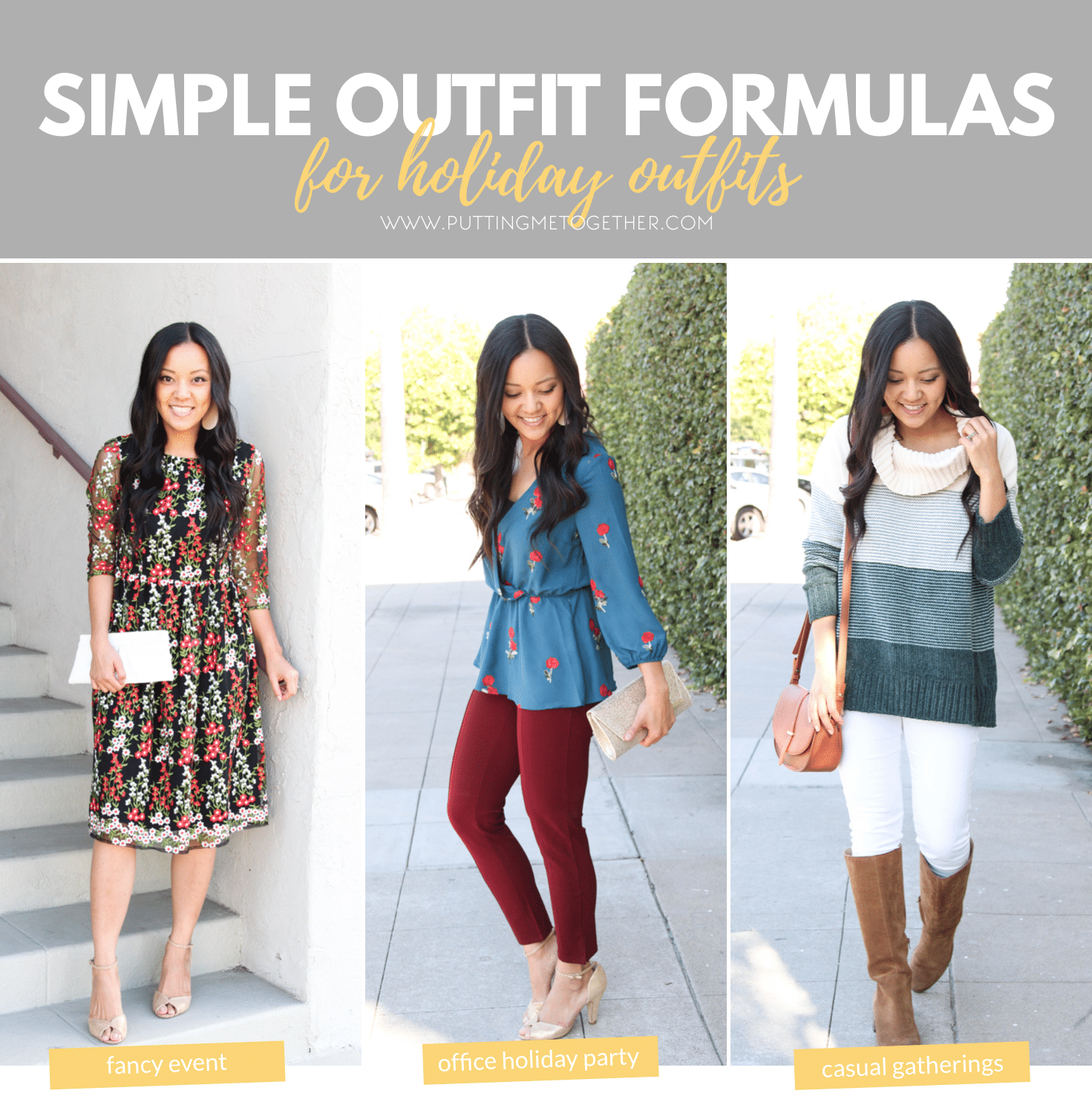 3fd5d6e26b134 Simple Outfit Formulas for Cute, Standout Holiday Outfits