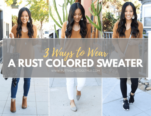Outfits With a Rust Colored Sweater