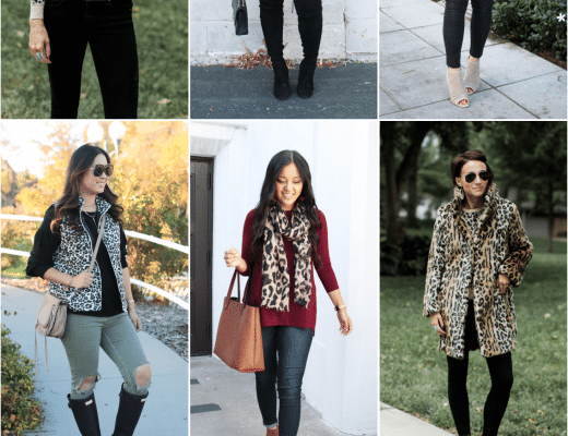 How to Wear Leopard Print in the Fall