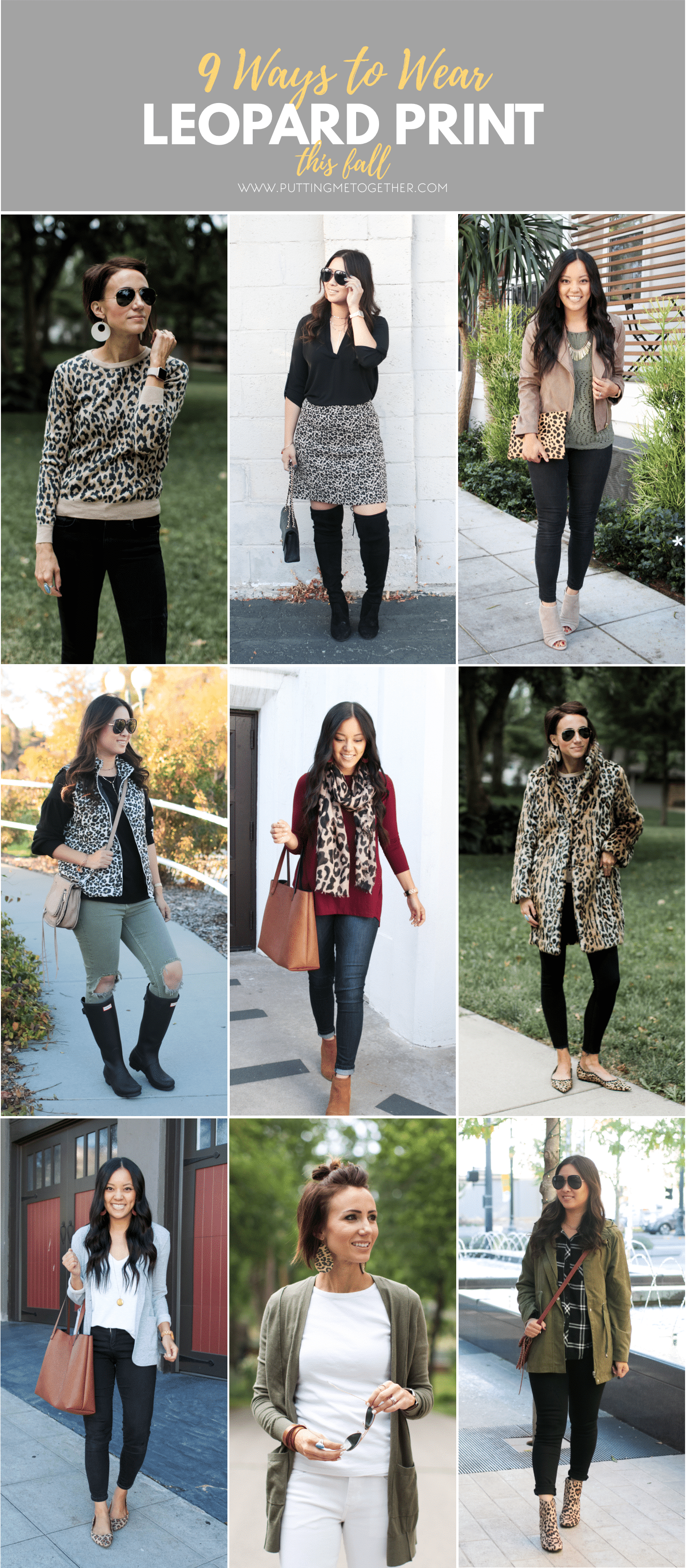 06580daf954 9 Ways to Wear Leopard Print for Fall - Putting Me Together