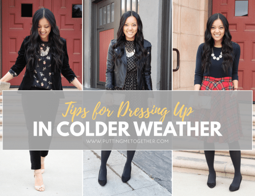 How to Dress Up When It's Cold