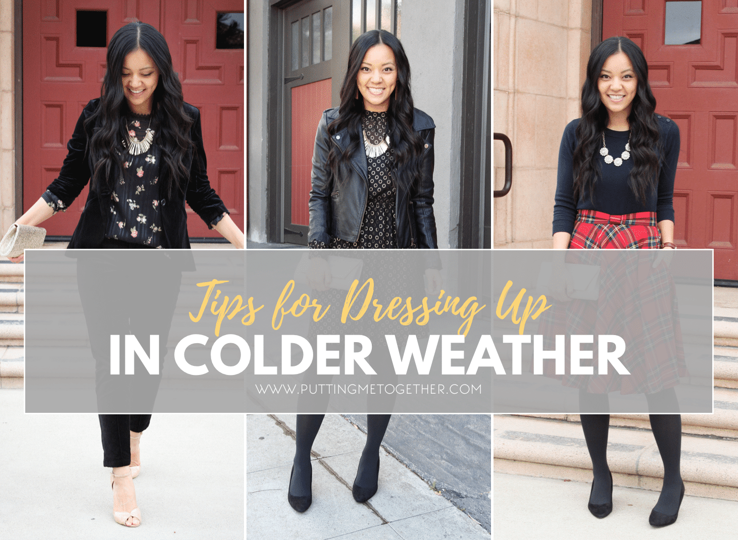 How to Dress Up In the Winter When It's Cold