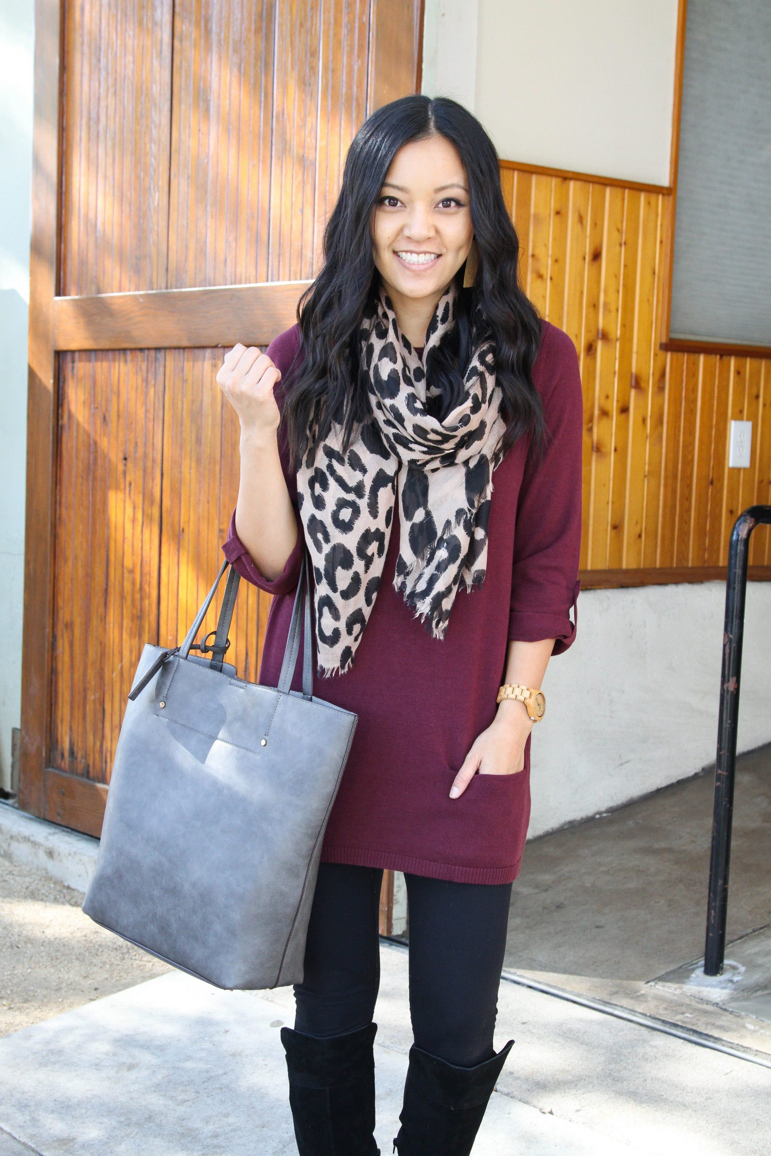 60dedb9fd79 Four Comfy Winter Outfits With Leggings + Nordstrom s Half Yearly Sale