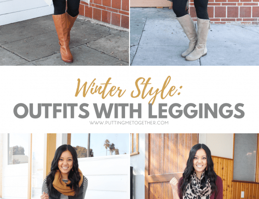 Comfy Winter Outfits With Leggings