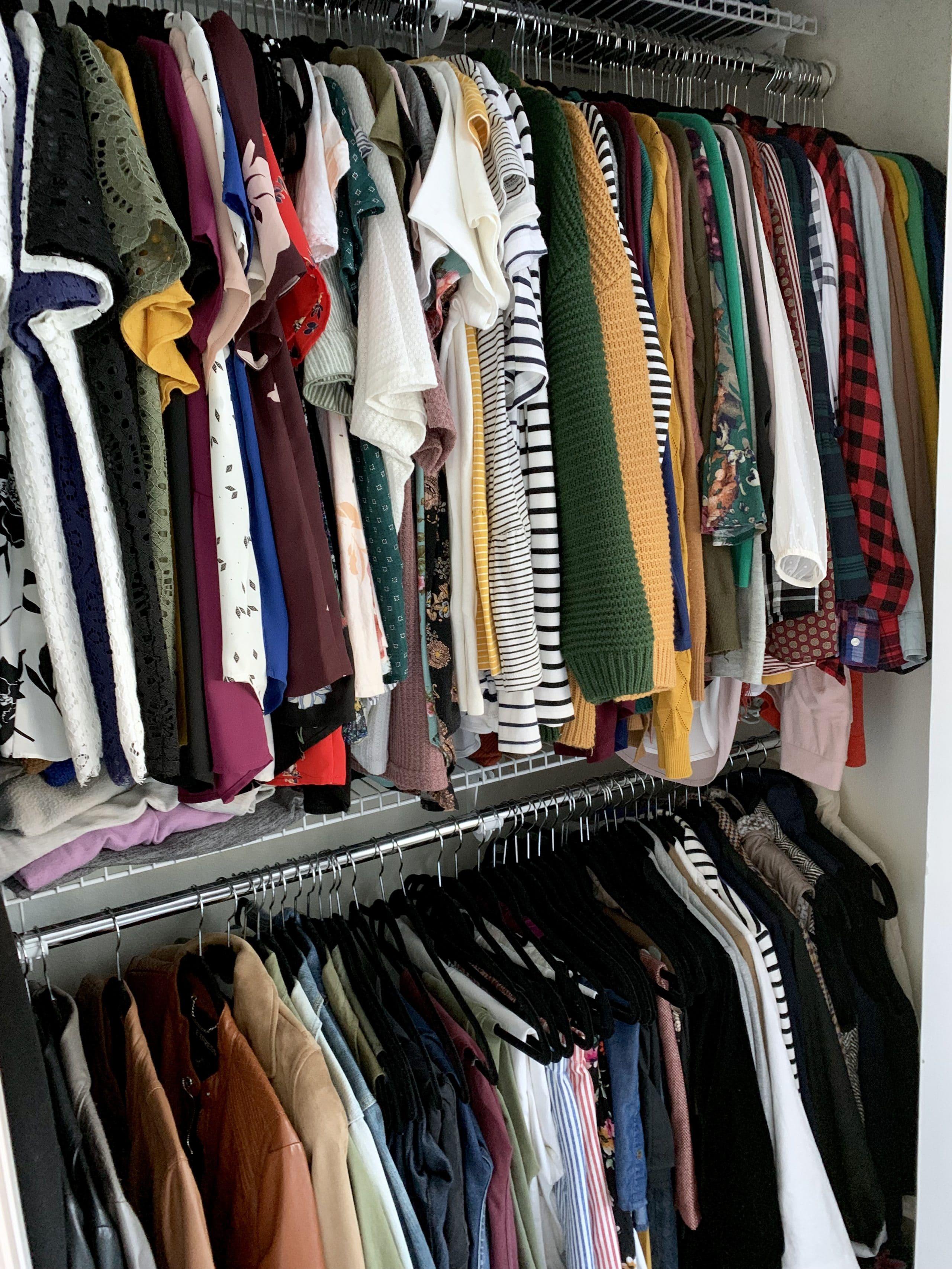 Inside Audrey's Closet