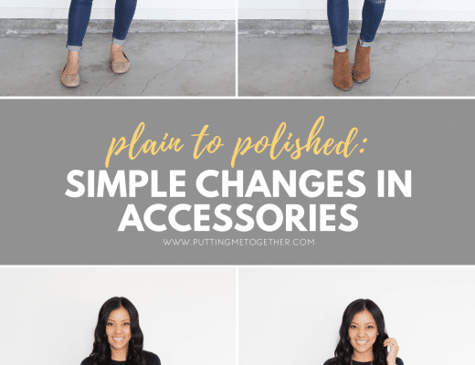 How to Put Together Outfits: From Plain to Polished with Accessories for Casual and Business Casual Outfits