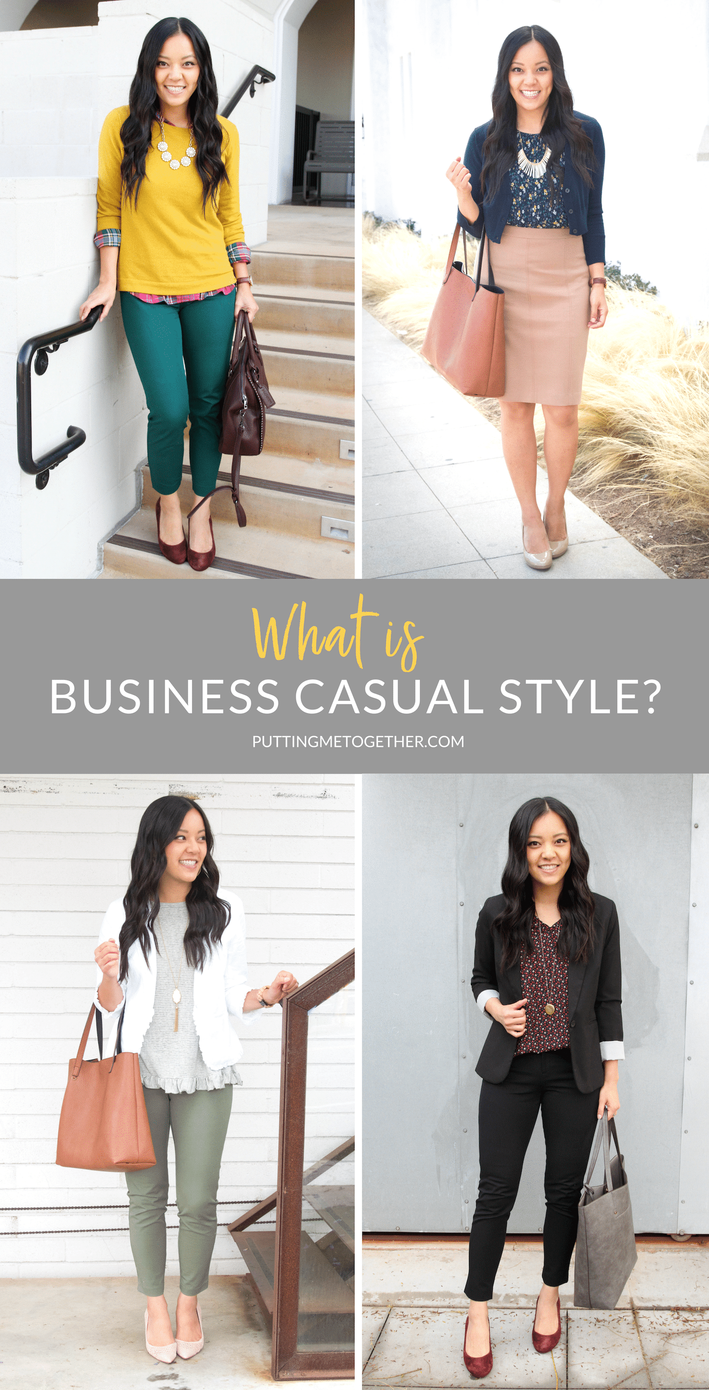 Style Help For Everyday Woman What Is Business Casual