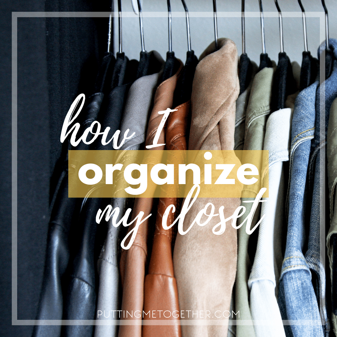 After My Recent Closet Clean Out Post I Was Asked How Organize Years Ago Used To Completely According Color